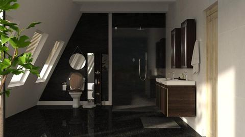 Attic Bathroom - Bathroom - by Twilight Tiger