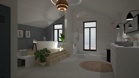Attic Bathroom - Bathroom - by marleinxs