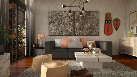 Thick material - Living room - by Liu Kovac