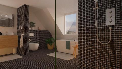 Attic bath - Bathroom - by MandyB84
