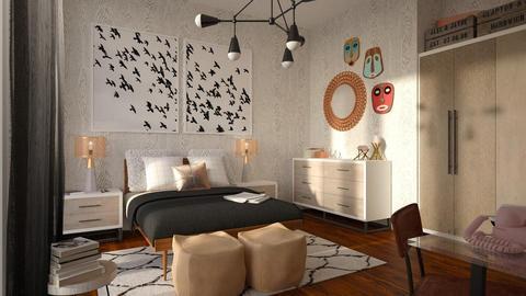 Masks - Bedroom - by Liu Kovac