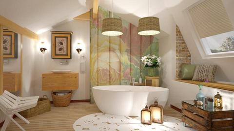 Attic Bathroom - Bathroom - by Roberta Coelho