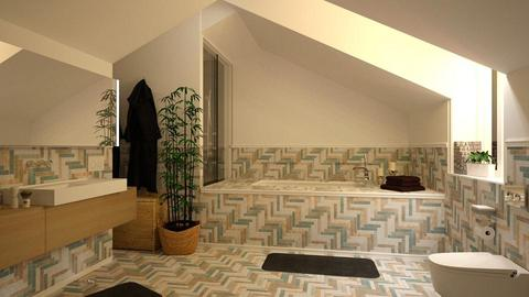 Boemio Attic Bathroom - Bathroom - by Brubs Schmitt