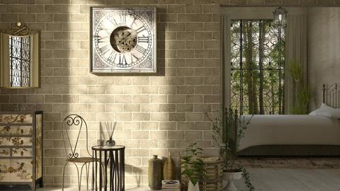Clock Effie - Bedroom - by JayPH