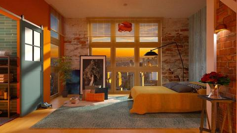 loft - Bedroom - by Inna_Inas