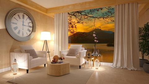 Grande Relogio  - Living room - by Roberta Coelho