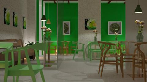 school - Dining room - by sirtsu