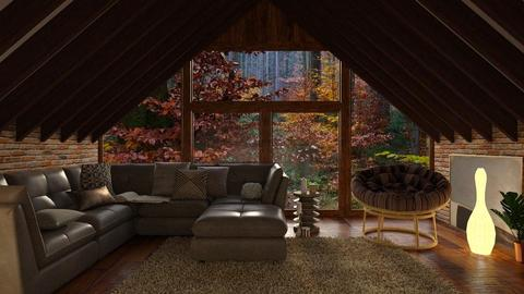 Deep - Living room - by Inna_Inas