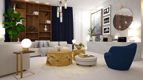 2019 Home Interior - Living room - by indira Massekele