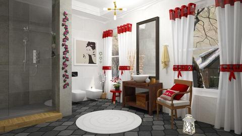 Christmas Bathroom - Bathroom - by Roberta Coelho