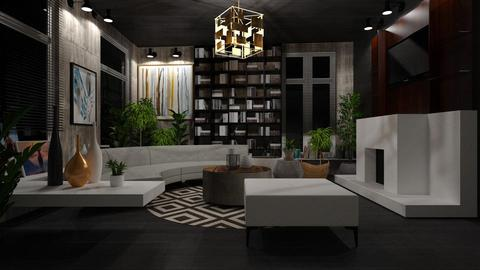 Template 2019 living room - by atiyahanisah