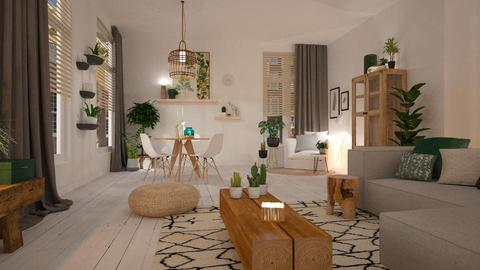 Eco_friendly - Living room - by MandyB84
