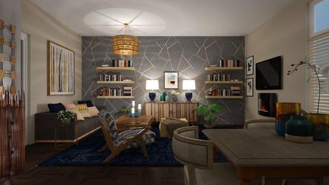 Template 2019 living room - Modern - Living room - by janip