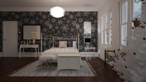 winter bedroom - by ANAAPRIL