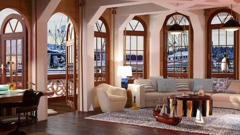 house of boats - Living room - by anchajaya