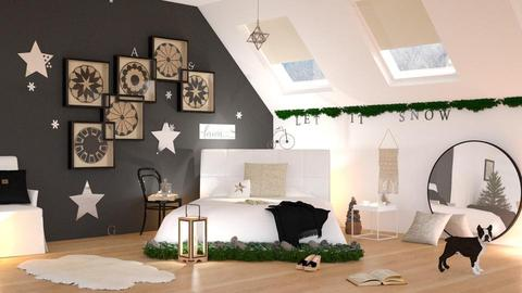 Winter Bedroom - Bedroom - by ArtHousedeco