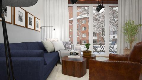 New Living Room - Living room - by indira Massekele