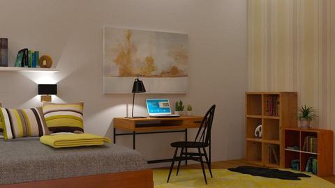 Teenager Bedroom - Kids room - by sirtsu