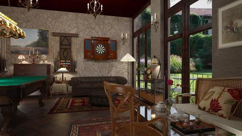 Billiard room - by rossella63