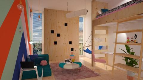 teen room - Kids room - by Liu Kovac