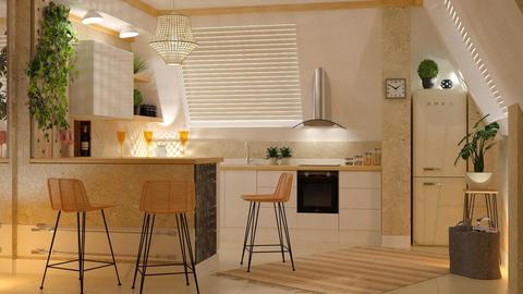 Small bar kitchen - Modern - by sukica