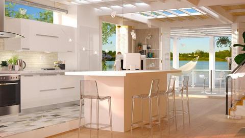Eyeland studio - Kitchen - by anchajaya