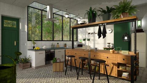 Eco Kitchen - Kitchen - by Chad_dp