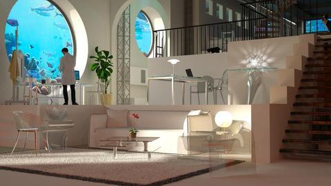 Sea bunker - Living room - by anchajaya