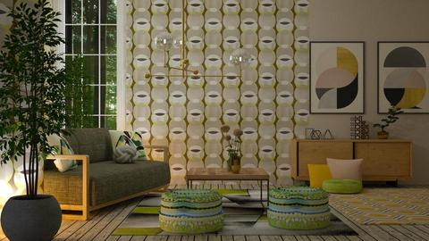 Geometric patterns  - Living room - by sirtsu