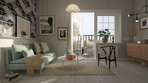 Sky and Sand - Living room - by Harleen Quinzel