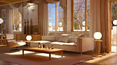 Almondy pr - Living room - by anchajaya