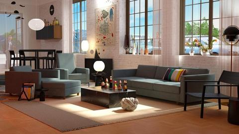 Teally pr - Living room - by anchajaya