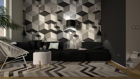 Escher pattern - by rossella63