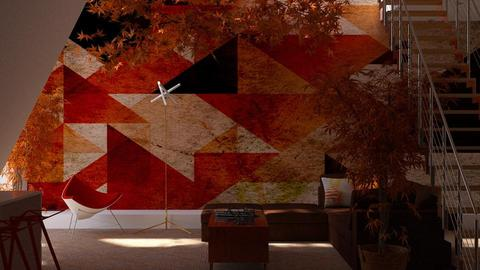 Geometric - Modern - Living room - by JayPH