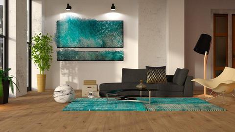 Artisan Flooring I - Living room - by Inna_Inas