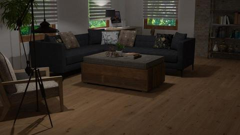 ARTISAN FLOORING template - Living room - by HarleyQuinn17