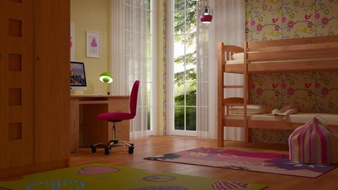 bunk - Kids room - by sirtsu
