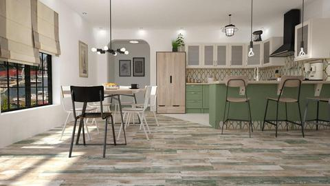 Contest OAK - Country - Kitchen - by starsector