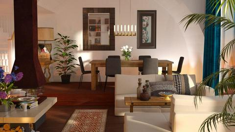 Sunset - Living room - by Inna_Inas