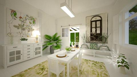 GREEN DINING - Dining room - by rasty