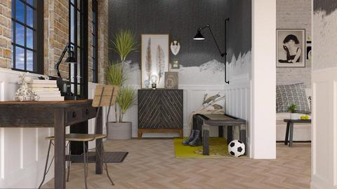 Haring Oak - Minimal - Living room - by starsector