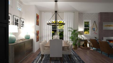 Duncan Living 1 - Living room - by louisdhe