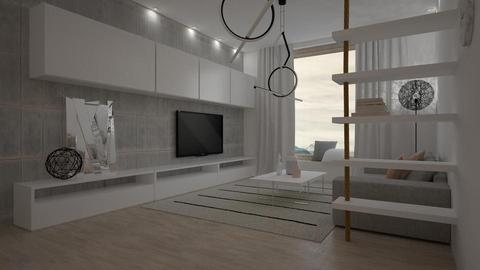 minimalism LR - Living room - by Liu Kovac