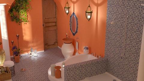 Moroccan  bath - by barnigondi