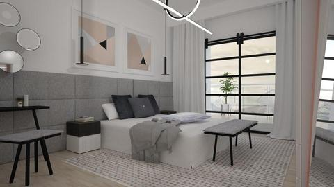 minimalism B - Bedroom - by Liu Kovac