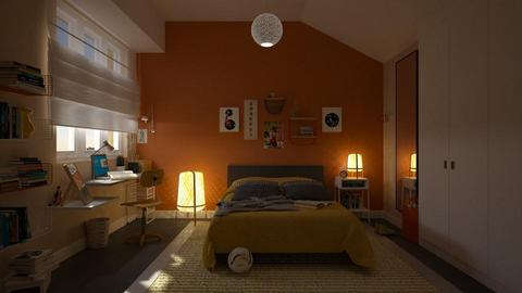 daisys room - Modern - Bedroom - by marinmarin