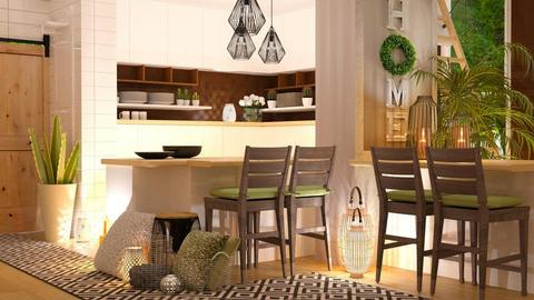 Scandinavian kitchen - by NikolinaB26