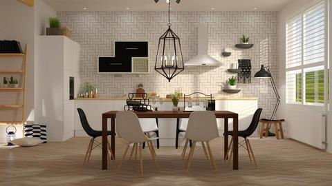 Scandinavian Kitchen - by DeborahArmelin