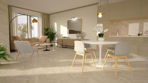Aspen Chalet - Modern - Living room - by Valkhan
