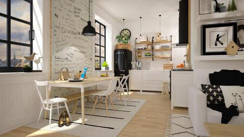 scandi - Feminine - Kitchen - by starsector